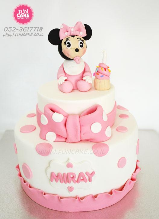 עוגת מיני-מאוס-תינוקת
