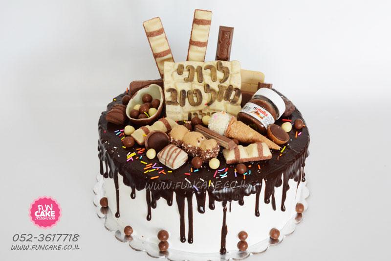 עוגת-טפטופים-שוקולדים