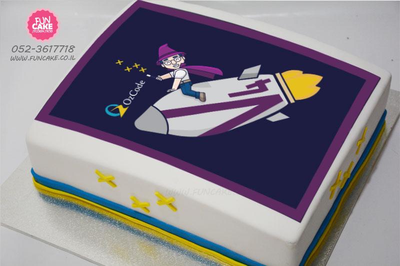 עוגת-לוגו-לאירוע-חברה