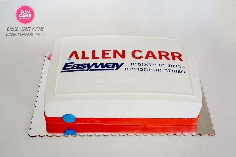 עוגה ממותגת לעסק