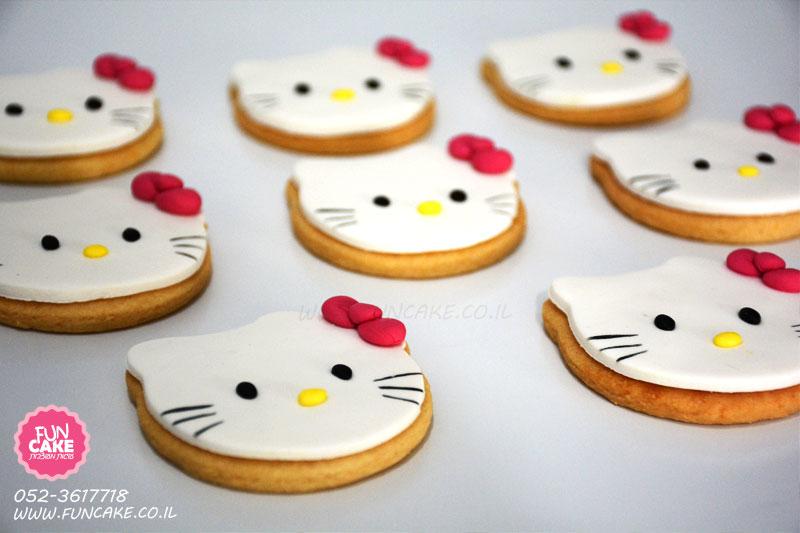 עוגיות מעוצבות הלו קיטי